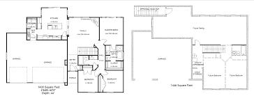 dakota 3 car 1400 rambler u2013 utah home design