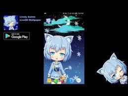 anime girl android live wallpaper cat girl anime live wallpaper android app on appbrain
