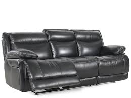 power leather recliner sofa simon li leather shining tips midnight power reclining sofa