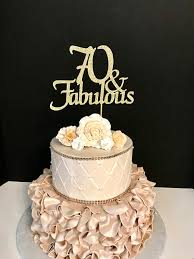 70th birthday cakes any number gold glitter 70th birthday cake topper 70 and