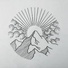 best 25 sunrise tattoo ideas on pinterest mountain outline