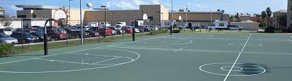 Basketball Courts With Lights Outdoor Basketball Courts Recreation And Wellness Center Rwc Ucf