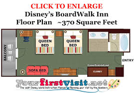 disney world floor plans review disney s boardwalk inn disney s resorts and beach club