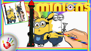 minions and despicable me coloring pages for kids coloring book by