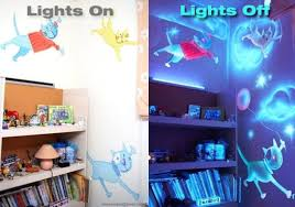 glow in the paint how to paint a wall mural with glow in the paint diy for