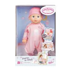 www baby baby annabell learns to walk toyworld