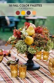 Fall Flowers For Wedding Trending For Fall Wedding Decor Ideas