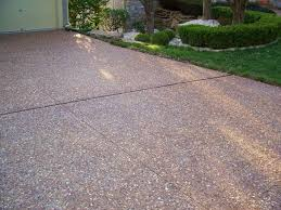 exposed aggregate great plains concrete