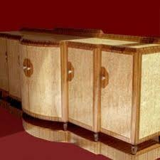 hand crafted art deco sideboard by tony hayden furniture