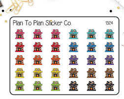 1025clean that closet planner stickers