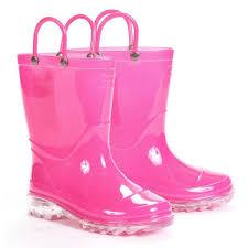 light up rain boots western chief girls light up rain boots