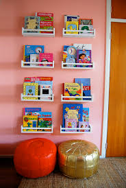 Childrens Wall Bookshelves by 8 Section Ikea Wall Shelves For Children Book Storage Made Of Oak