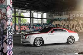 roll royce forgiato rolls royce wraith dips in candy apple red with forgiato alloys