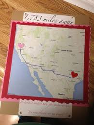 long distance card i made for my boyfriend in pa a love that