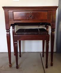 Vintage Singer Sewing Machine Cabinet Antique 1947 Singer Sewing Machine Cabinet U0026 Stool Model 201