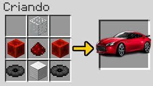 minecraft sports car como fazer um carro no minecraft item secreto u2013 tubechip