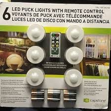 puck lights with remote capstone lighting 6 led puck lights with remote control batteries