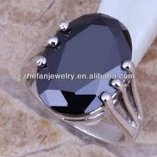 mens rings stones images Fashion simple 925 sterling silver cheap mens single stone rings jpg