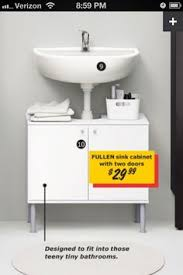 an ikea lillangen sink cabinet designed for your space and to hold