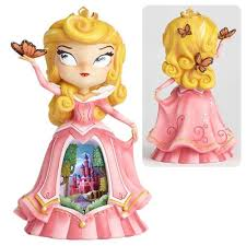 disney mindy sleeping beauty princess aurora statue enesco