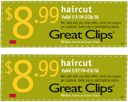 haircut specials at great clips great clips 8 99 haircut coupon pro