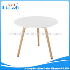 round party tables for sale new fashion three legs wood round table round party tables cheap