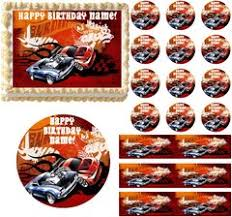 hot wheels cake toppers hot wheels edible party images