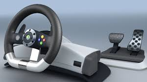 xbox 360 steering wheel xbox 360 official wireless steering wheel boxed 12 months warranty