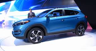 hyundai tucson 2016 white hyundai reveals more handsome 2016 tucson for north america in ny