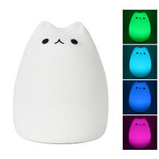 umiwe rechargeable waterdrop silicone night light for kids baby