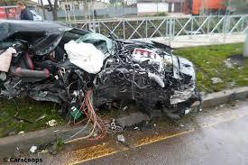 ferrari laferrari crash mclaren crash auf der a95 bilder autobild de