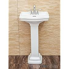 Rough In For Pedestal Sink American Standard 0282 008 020 Retrospect Pedestal Console Sink