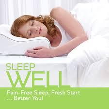 review sleep innovations contour memory foam pillow standard