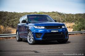 first range rover ever made 2016 range rover sport svr review video performancedrive