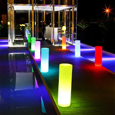 20 outdoor led lighting ideas how to illuminate a terrace led