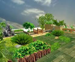 garden design landscape plan landscaping ideas for front of