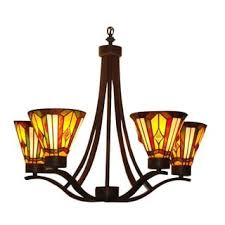 Chandeliers Craftsman Style Chandeliers Tiffany Style Lighting Shop The Best Deals For Nov