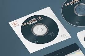 free paper cd cover mockup cd mockup psd zippypixels
