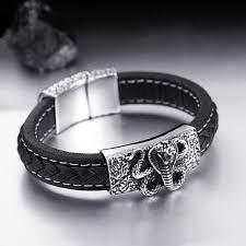 stainless steel snake bracelet images Designer snake bracelet stainless steel herp life jpg