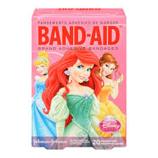 disney princess disney princesses bandage strips band aid brand adhesive bandages