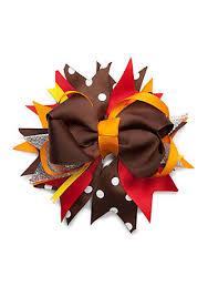 thanksgiving hair bows riviera thanksgiving hair bow belk