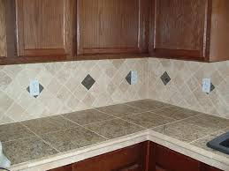 Kitchen Countertop Tile Ideas Wonderful Tiled Kitchen Countertops All Home Decorations