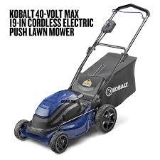 kobalt 40v max electric outdoor power equipment dadand com