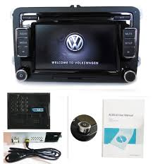 vw car stereo radio rcd510 usb 6cd mp3 sd aux golf passat tiguan