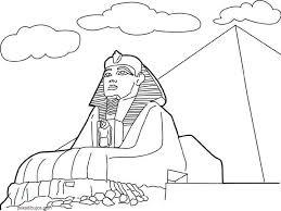 imagenes egipcias para imprimir dibujos de las pirámides de egipto para colorear