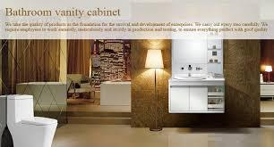 Flat Pack Bathroom Vanity Foshan Supply Sri Lanka Modern Home Furniture Flat Pack Modular