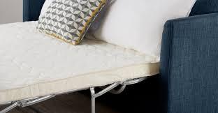 sofa bed memory foam mattress sofa bed the brick floor and furniture