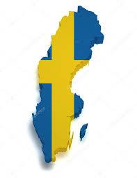 sweden map 3d shape u2014 stock photo nirodesign 11547046