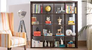 Dark Bookcase Boeberg Bookshelf Urban Ladder