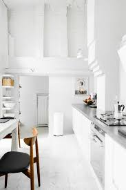 436 best kitchen design ideas images on pinterest kitchen home minimal kitchen design with white cabinets and white walls
